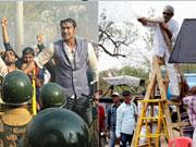 Amitabh, Ajay, Kareena bear huge water pressure for SATYAGRAHA