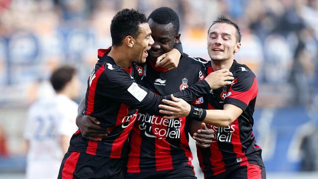Ligue 1 - Bahoken brace lifts Nice up to fifth
