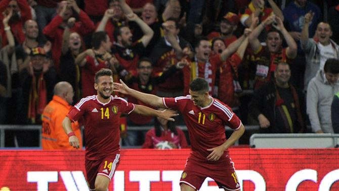 International friendlies - Belgium sink Australia thanks to Mertens and Witsel