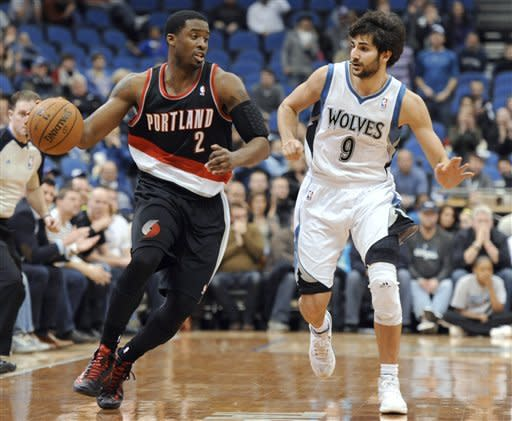 Aldridge, Blazers hang on to beat Wolves 100-98