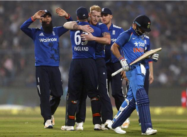 Cricket - India v England - Third One Day International