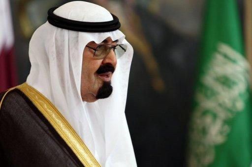 Saudi King Abdullah, seen here in May 2012, has called for reason and wisdom during a telephone conversation with Egyptian President Mohamed Morsi in which he discussed the latest clashes between Gaza and Israel