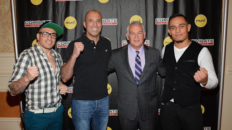 "mun2 And Campbell McLaren Host Media Luncheon Introducing New MMA Reality Series ""Combate Americas"""