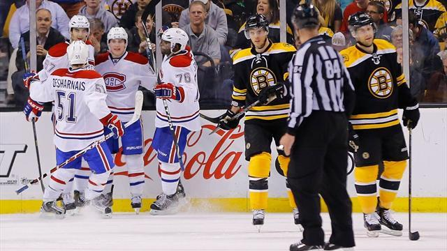Ice Hockey - Canadiens dampen Boston spirits