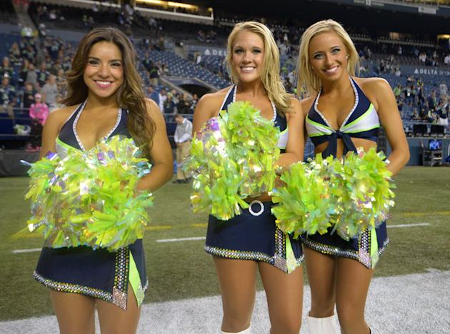 Seattle Seahawks chicas mar