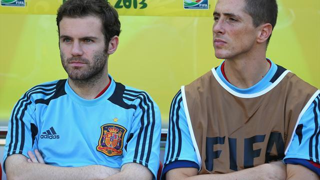 World Cup - Torres and Mata's Brazil hopes in doubt after Spain snub