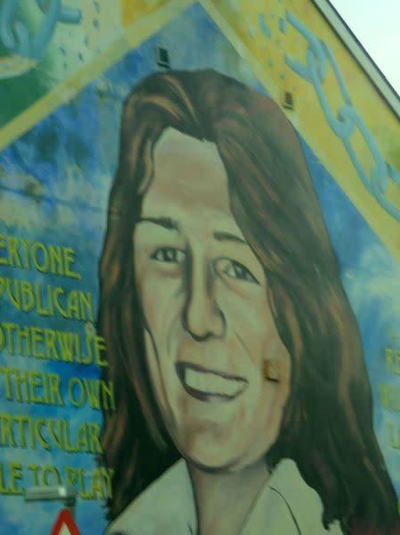 Belfast Murals Bobby Sands
