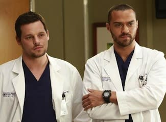 Grey's Anatomy Sneak Peek: Which Guy Should Be 'The Face of Seattle Grace'?