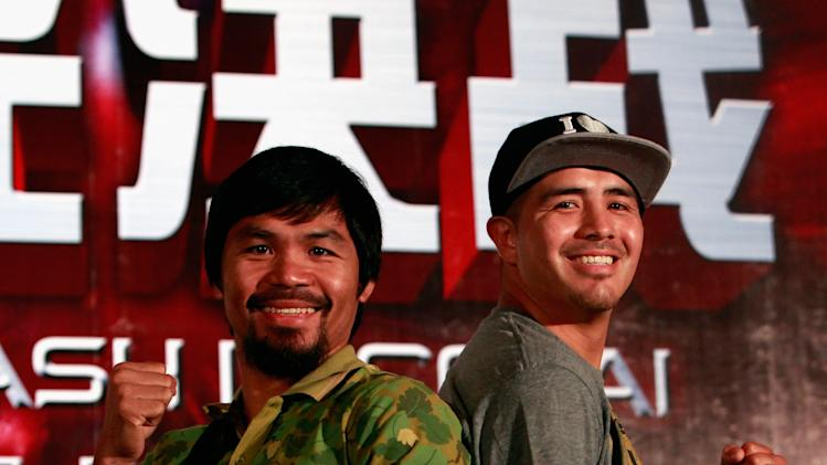 Manny Pacquiao and Brandon Rios Press Conference