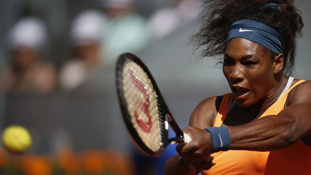 Tennis - 'Boring' Serena to face Sharapova in Madrid final