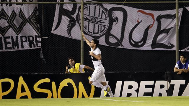 South American Football - Olimpia make Newell's sweat for Libertadores last-16 spot