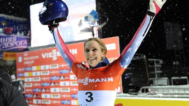 Skeleton - Pikus-Pace says silver makes the pain worth it