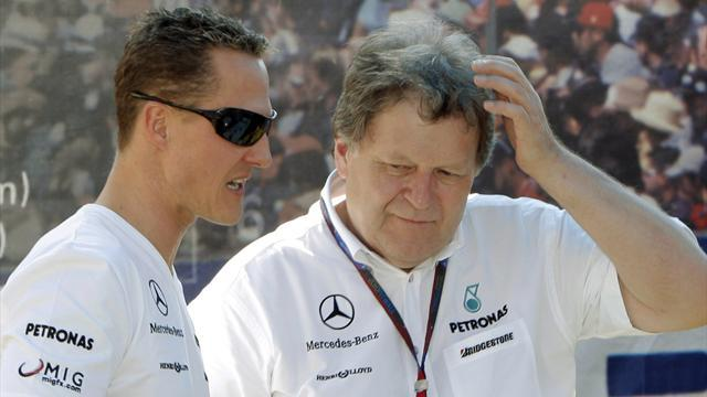 Formula 1 - Schumacher saddened by Haug exit from Mercedes