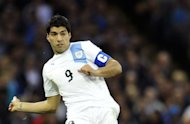 Luis Suarez pictured during the Olympic men's Group A match between Britain and Uruguay at the Millennium Stadium in Cardiff. Suarez blasted fans who screamed abuse as his team slumped to a 1-0 defeat to Great Britain in the Olympics, claiming it was an indication that they feared him