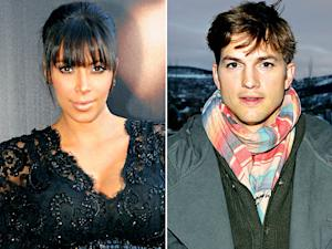 Kim Kardashian Steps Out in a Skin-Tight Leather Skirt; Ashton Kutcher Explains Why He Won't Talk About Dating Mila Kunis: Today's Top Stories