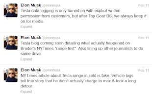 Tesla vs. The Times image Tesla Tweets 1