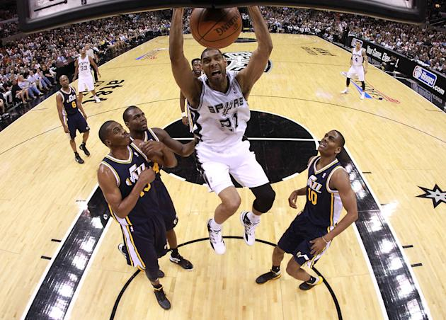 Utah Jazz v San Antonio Spurs - Game One
