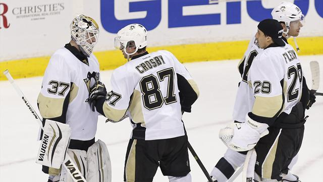 Ice Hockey - Crosby leads Penguins to win over Capitals