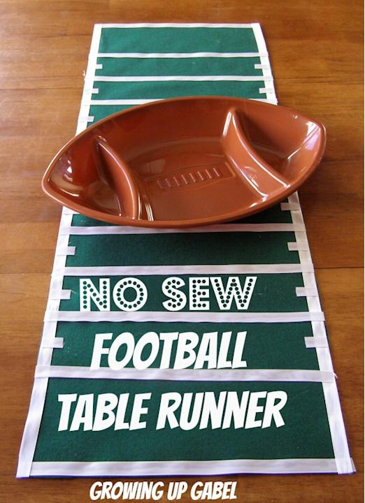 Yard-line Table Runner
