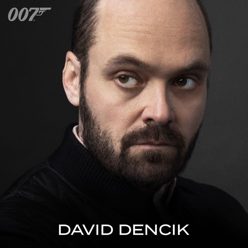 大衛丹席克的片中角色尚未公佈。
