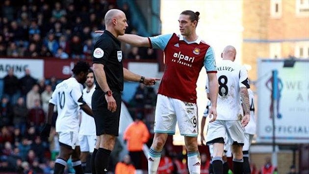 Andy Carroll v Swansea