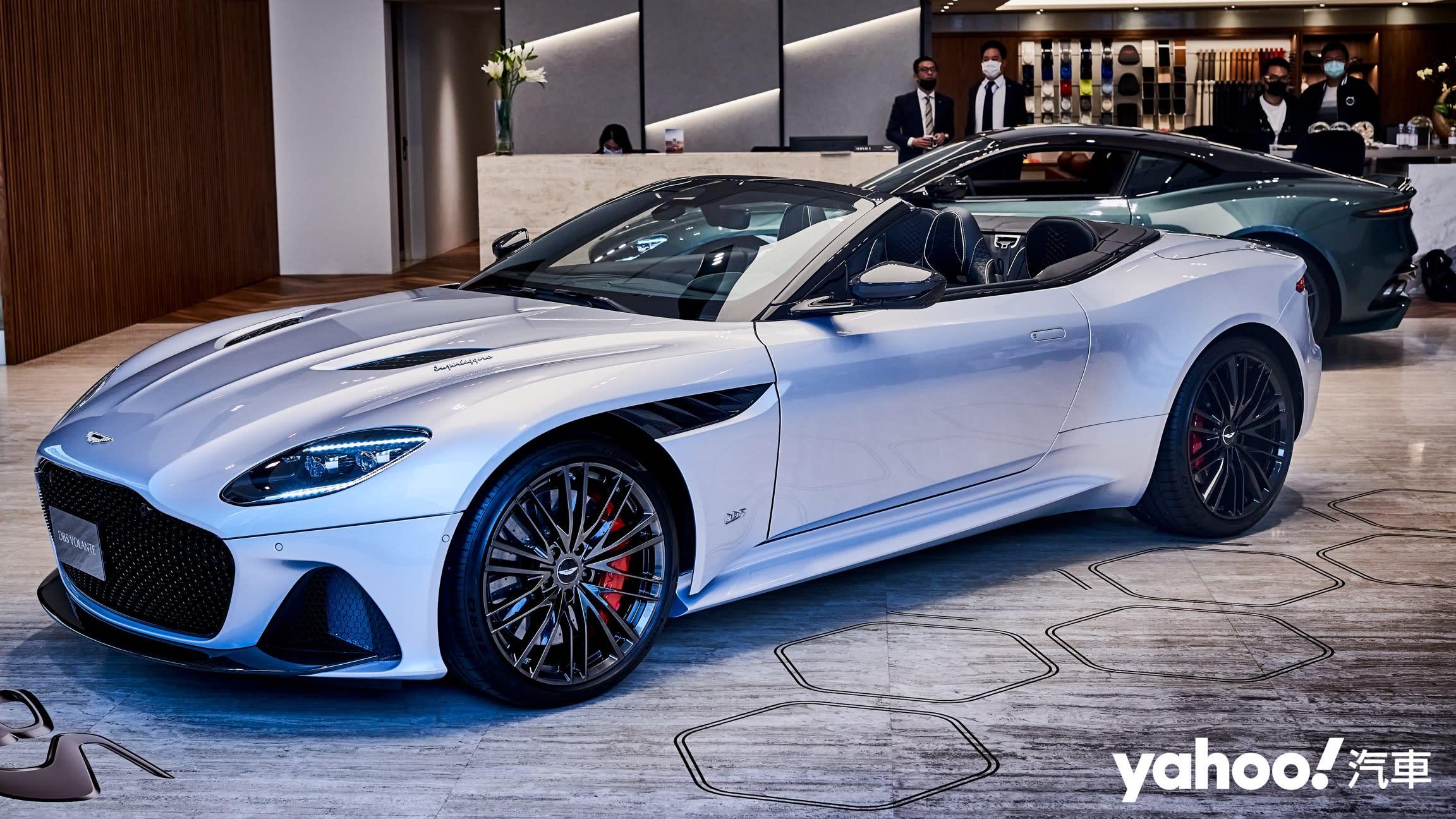 【新車圖輯】強悍亦是風華絕代的展現!2020 Aston Martin DBS Superleggera Volante優美登場!