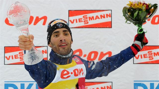 Biathlon - Title for Fourcade after win in Russia
