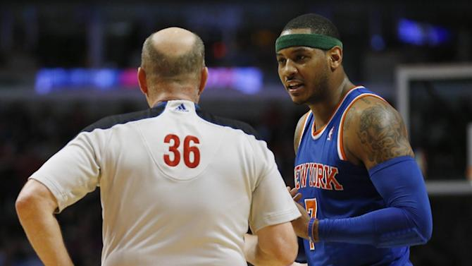 NBA - Knicks re-sign All-Star Carmelo Anthony