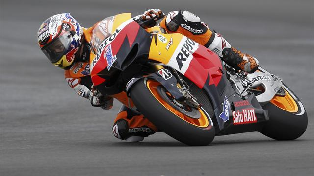 Motorcycling - Rain prevents Stoner's latest test
