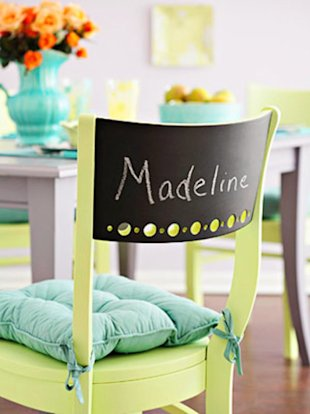 Personalize Your Chairs
