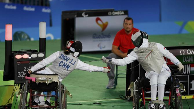 2016 Rio Paralympics - Wheelchair Fencing - Gold Medal Match