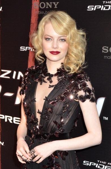 Emma Stone channels gothic glamour
