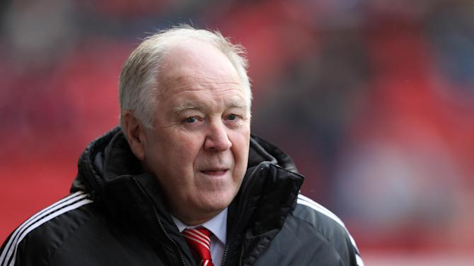 Craig Brown refused to criticise his Aberdeen team despite another blank in front of goal