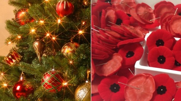 Remembrance Day vs. Christmas displays: Should stores hold off on holiday promotions?