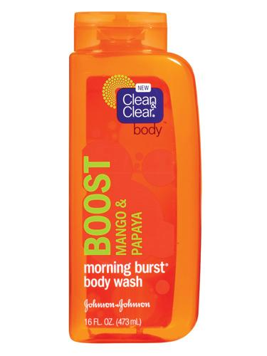 # 1: Clean & Clear Morning Burst Body Wash