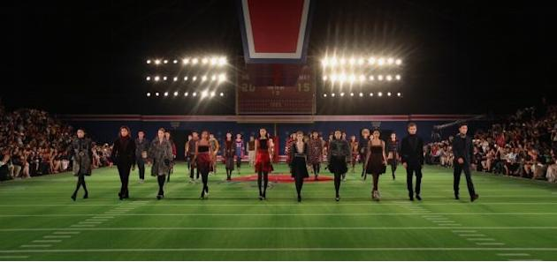 Tommy Hilfiger re-enacts his Fall 2015 fashion show in Beijing