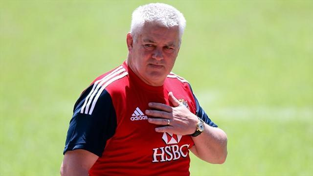 Lions Tour - Gatland rotates squad for Waratahs clash