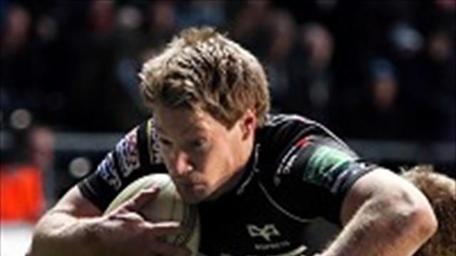 Rugby - Ospreys go fourth after Dragons defeat