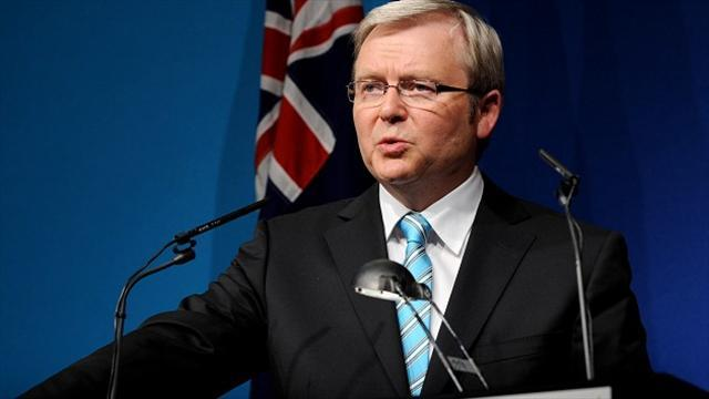 Cricket - PM Rudd blasts Khawaja dismissal