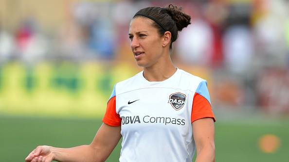 "Interview with Carli Lloyd: ""I would love to play against men"""