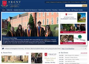 Refining Landing Pages For Your School Website, A Worthwhile Task! image trent college website uk