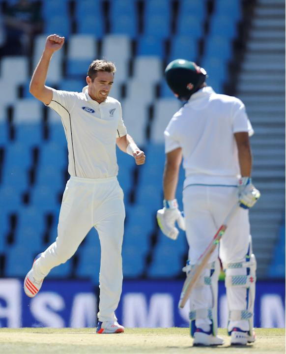 Cricket - New Zealand v South Africa - second cricket test match