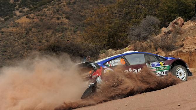 FIA World Rally Championship Mexico - Day One