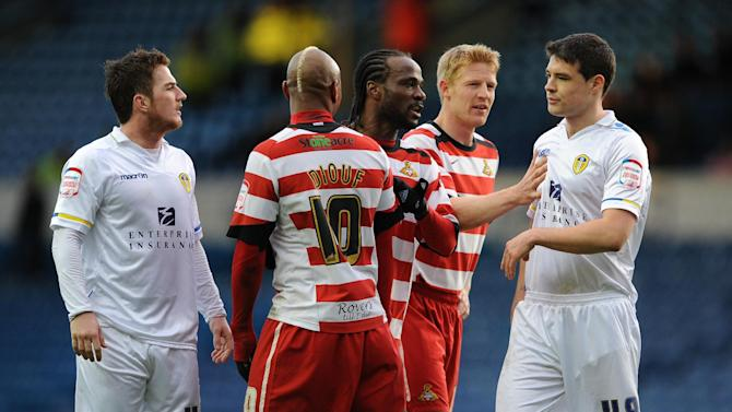 Tempers flared at the end of the npower Championship match at Elland Road between Leeds and Doncaster last season