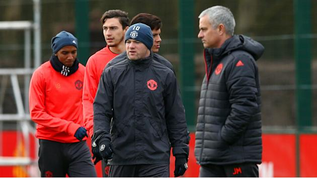 Mkhitaryan absence gives Rooney hope of EFL Cup final start, admits Mourinho