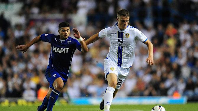 Soccer - Capital One Cup - First Round - Leeds United v Chesterfield - Elland Road