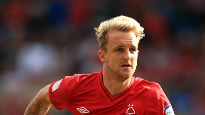 James Coppinger has struggled to secure regular football on loan at Nottingham Forest