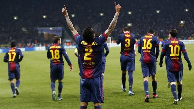 Champions League - Barcelona v Benfica: LIVE