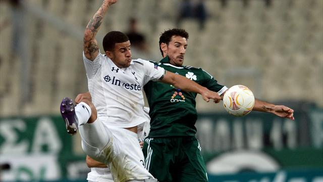 Spurs surrender lead to Panathinaikos in Athens