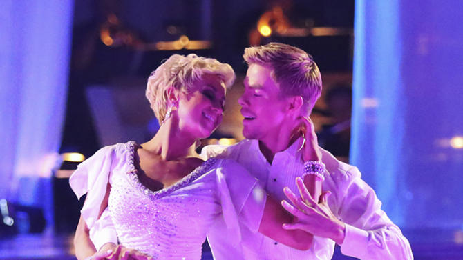 Kellie Pickler and Derek Hough (5/6/13)